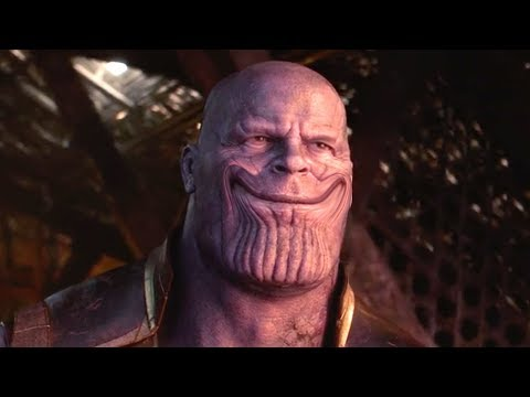 Infinity War But Thanos Heals Half The Universe