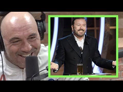 Joe Rogan On Ricky Gervais' Golden Globes Monologue
