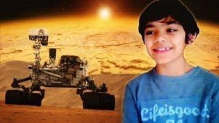 Child Prodigy Explains Mars Discovery