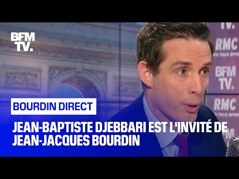 Jean-Baptiste Djebbari Face à Jean-Jacques Bourdin En Direct