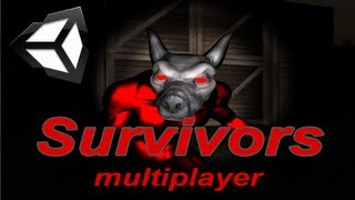 Survivors game,multiplayer Parody | Unity3D | by Konsordo