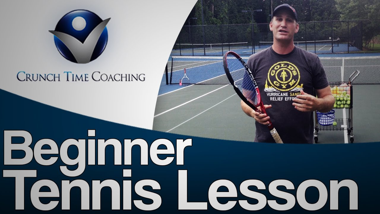 Online tennis video lessons.