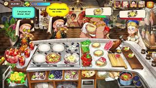 Cooking Adventure - Spanish Restaurant Level 54 - Full Upgrade screenshot 3