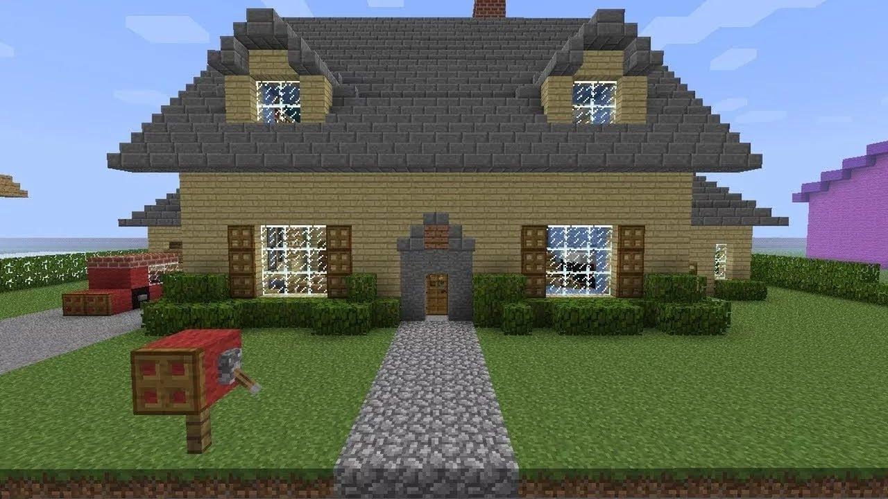 Картинки красивого дома в майнкрафте красивого и легкого