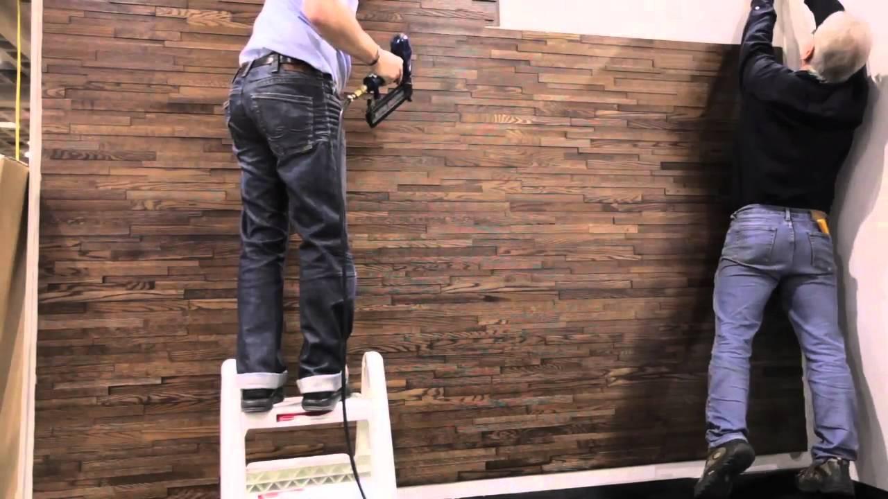 friendlywall easy installation youtube. Black Bedroom Furniture Sets. Home Design Ideas