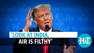 US Final Presidential Debate: When Donald Trump called India filthy