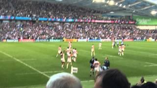 ラグビーワールドカップ2015 日本 vs 南アフリカ 勝利の瞬間(現地) Rugby world cup 2015 Japan vs South Africa at the stadium