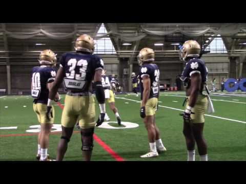 Notre Dame Practice Highlights — Apr  7