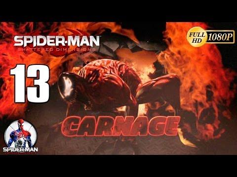 Spiderman Shattered Dimensions Carnage vs Spiderman Walkthrough Parte 13 Gameplay Español