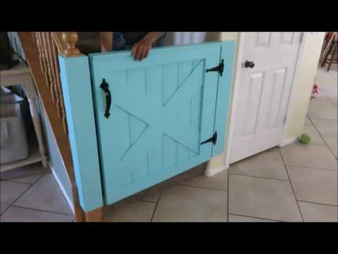 Barn Door Baby Gate Youtube