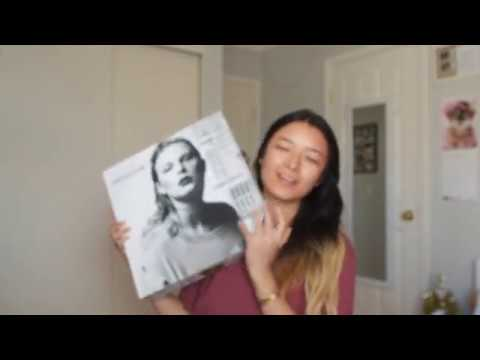 Unboxing Taylor Swift reputation VIP Package