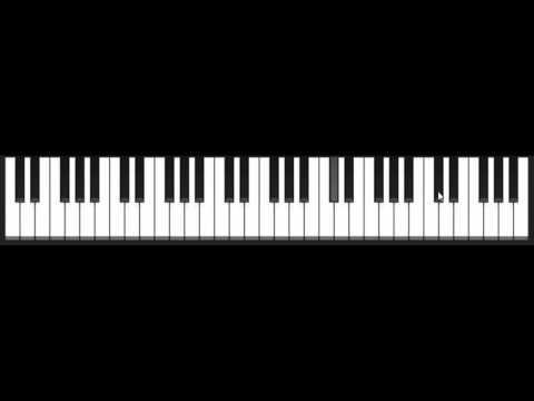 Онлайн пианино на клавиатуре )