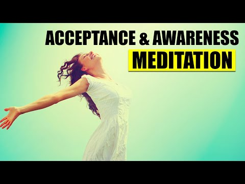 Awareness & Acceptance Meditation - Guided - Dr Itai Ivtzan