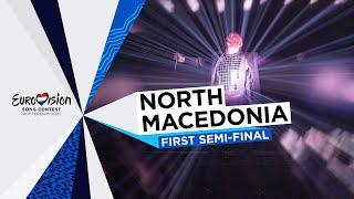 Vasil - Here I Stand - LIVE - North Macedonia 🇲🇰 - First Semi-Final - Eurovision 2021