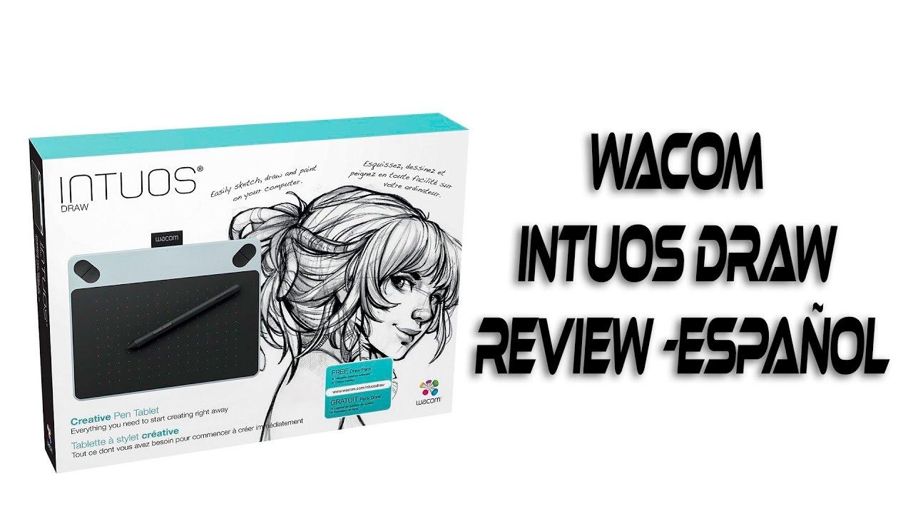wacom intuos draw review español youtube