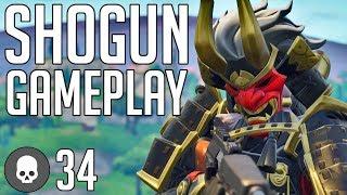 *NEW SKIN* - SHOGUN - FORTNITE Battle Royale [No Commentary Gameplay]