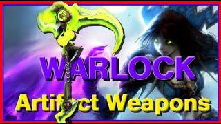 WoW Legion Beta Artifact Weapons - Warlock