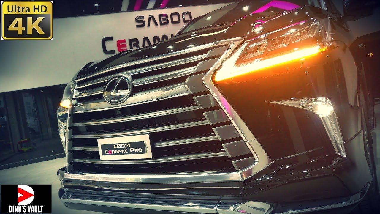Lexus Lx 570 4K Walkaround Interior Exterior Luxury Suv Cars Dinos