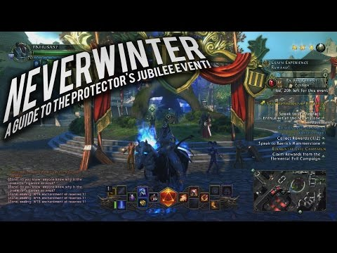 Neverwinter:  A Guide to the Protector's Jubilee event