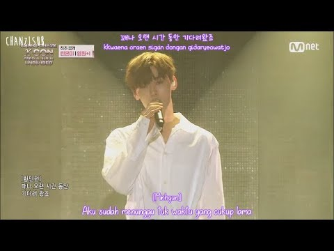 Wanna One (Lean On Me) - Forever And A Day (영원+1) (Indo Sub) [ChanZLsub]