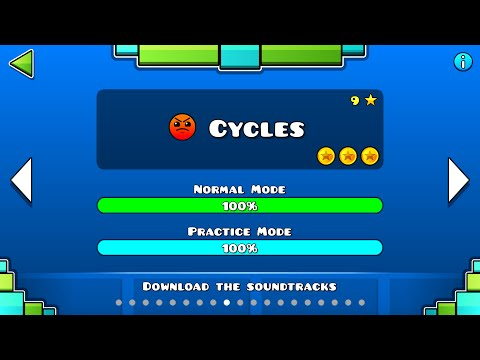 Geometry Dash - Cycles All Coins