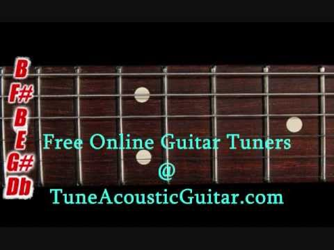 drop b tuning drop b online guitar tuner youtube. Black Bedroom Furniture Sets. Home Design Ideas