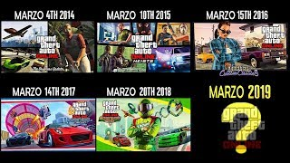 ROCKSTAR PUBLICA LOS DLC MÁS GRANDES EN MARZO DESDE 2013! ASÍ SERÁ EL DLC DE MARZO 2019 GTA ONLINE