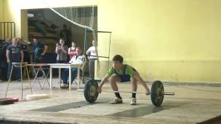 Снисоренко Виктор, 13 лет, вк 50 Рывок 60 кг