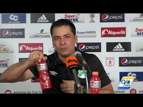 La rueda de prensa en la que Héctor Cárdenas lloró por la situación en Deportivo Cali