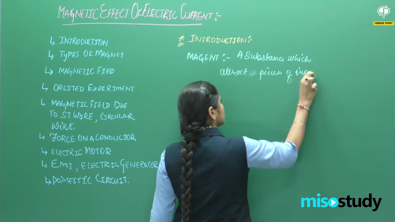 Magnetic Effect of Electric current for physics class 10 by Kota faculty