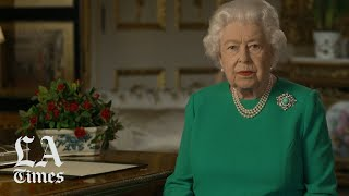 Queen Elizabeth hails healthcare workers in her address to the nation