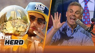 Colin Cowherd on Curry's Warriors ruining NBA Draft, Paul George saving Lakers | NBA | THE HERD thumbnail