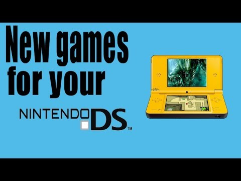 New Games For Your Nintendo DS