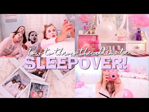 HOW TO THROW THE ULTIMATE SLEEPOVER!   Coco's World