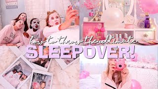 HOW TO THROW THE ULTIMATE SLEEPOVER! | Coco's World