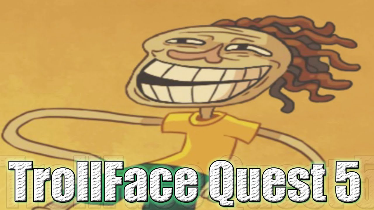 ¿MAS ABSURDO?....IMPOSIBLE !! - Trollface Quest 5 - YouTube