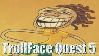 ¿MAS ABSURDO?....IMPOSIBLE !! - Trollface Quest 5