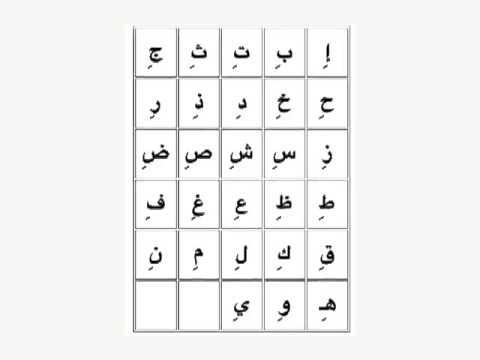 Learn arabic alphabet online