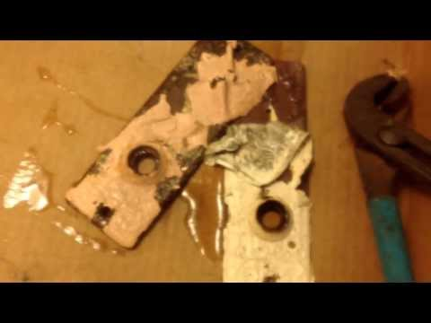 How to strip paint off of brass or steel hardware no chemicals