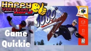 HVGN Game Quickie: 1080 Snowboarding (N64)