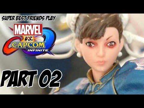Super Best Friends Play Marvel vs. Capcom Infinite (Part 02)