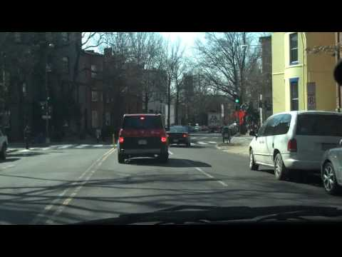 Driving around Northwest Washington D.C. (Flip Mino HD Test)