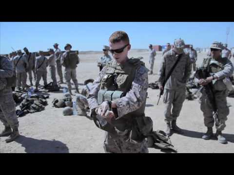 II MEF FWD Conducts Theater Training in Afghanistan