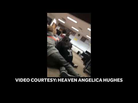 Video shows frightening moments after school shooting