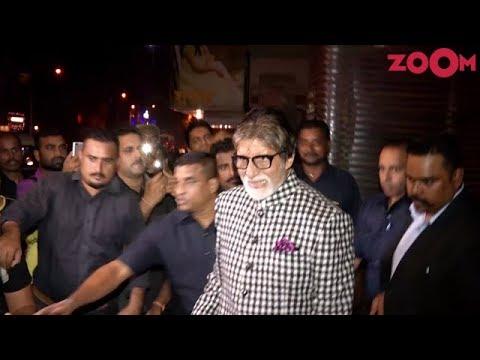 Amitabh Bachchan Spotted at Juhu in Mumbai