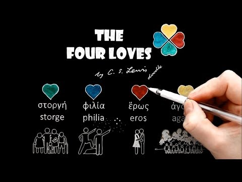 The Four Loves ('Eros' or 'The Love Between the Sexes') by C.S. Lewis Doodle