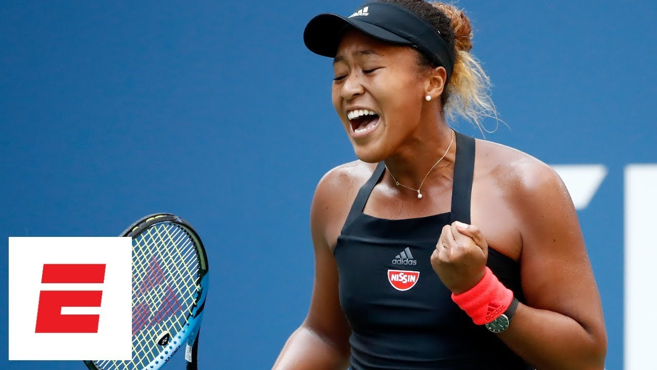 Naomi Osaka: 2018 US Open Highlights: Naomi Osaka Routs Lesia Tsurenko
