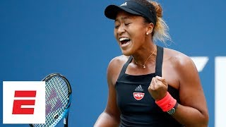 2018 US Open highlights: Naomi Osaka routs Lesia Tsurenko to reach semis | ESPN