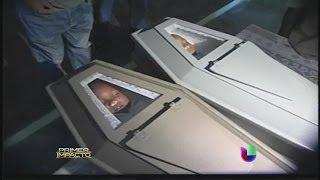 Inesperada reacción de un padre en el velorio de sus hijos en República Dominicana - Primer Impacto