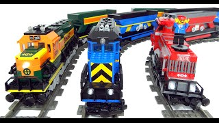 Lego train coal terminal - how it works: layout and load procedure